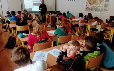 Základní škola Borotín u Tábora - komiksy, kam se podíváš