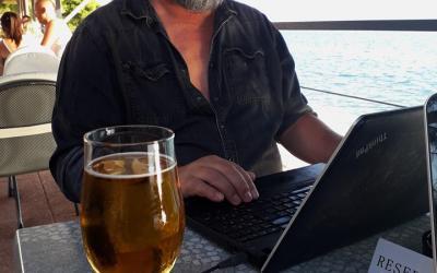Píšu Rédla, doma, na zahradě i u moře.... (Chorvatsko 2019)