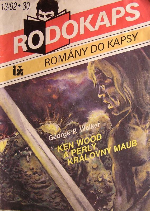 Druhý díl akční fantasy s legendou české fantasy, Kenem Woodem