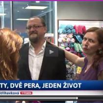 Eva Střihavková, Jiří W. Procházka a Klára Smolíková