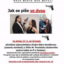 Naše beseda v Novém Městě nad Metují má pěkný plakát.